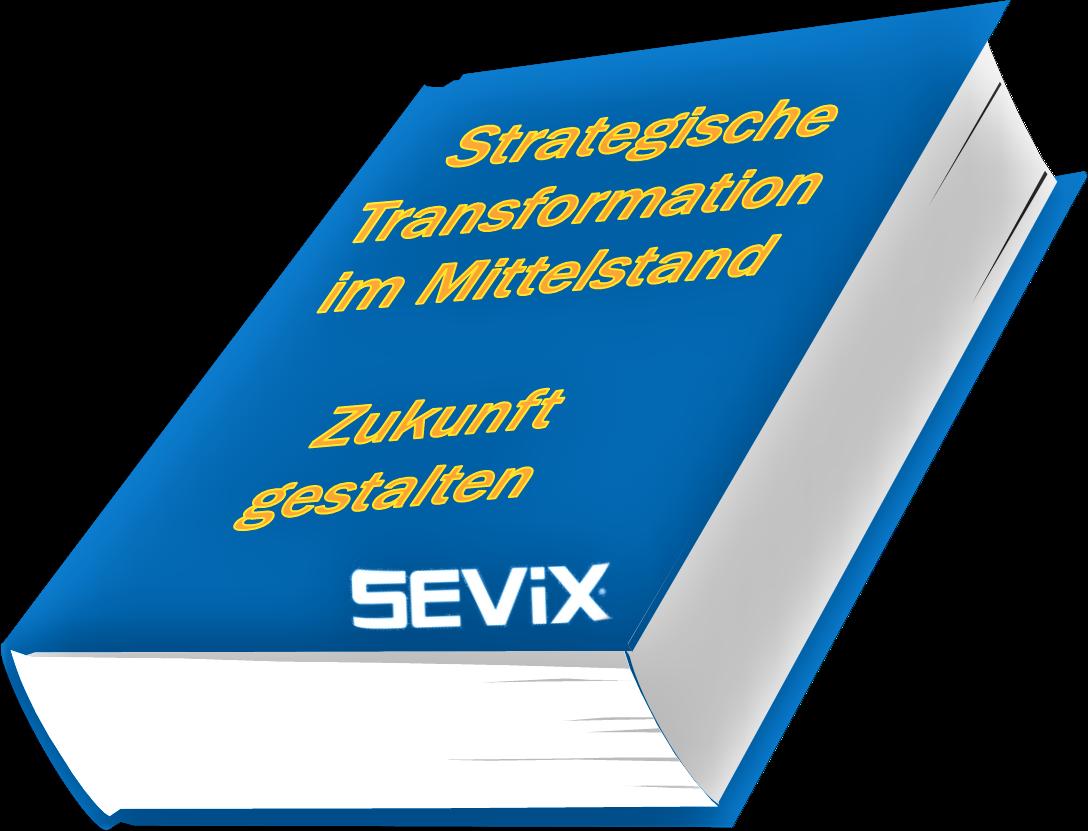 Neues SEViX Buch - Strategische Transformation im Mittelstand - Zukunft gestalten